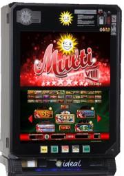 Spielautomat Merkur Multi 9 Red-Aqua-Silver Edition
