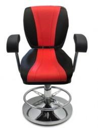 Stuhl Astro schwarz-rot