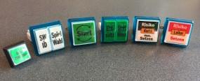 Spielautomat Tastensatz Bally TR5 Slant