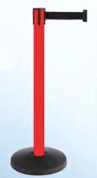 Spielautomat Gurtpfosten 1-Fach rot