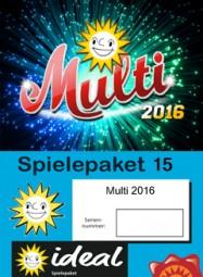 Spielpaket Multi 2016