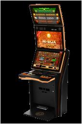 Spielautomat Merkur M-Box Trio Explosion 2020 V2