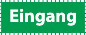 """Spielautomat Fußbodenaufkleber """"Eingang"""""""