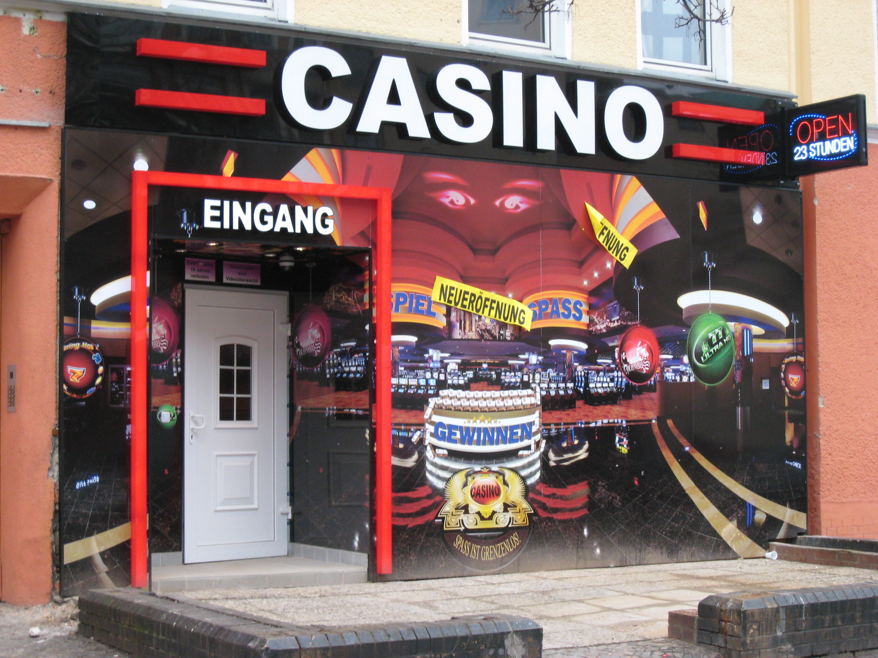 california spielothek casino